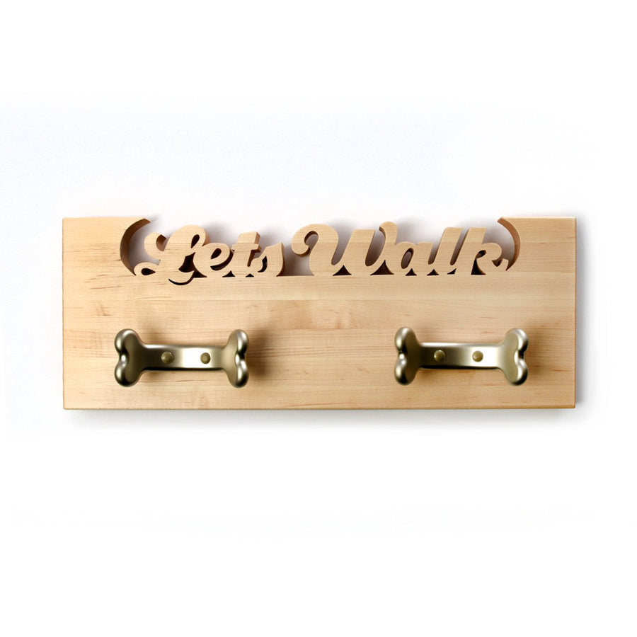 Leash board for dogs - dog leash hooks - dog leash holder