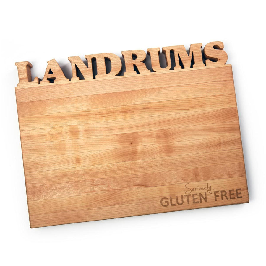 Large Custom Board ~ Seriously Gluten Free