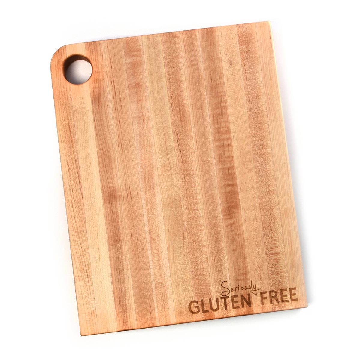 Gluten free products - cutting board