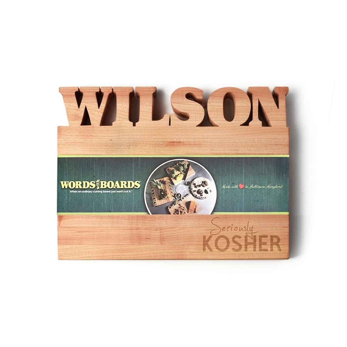 Kosher kitchen - small - custom cutting board
