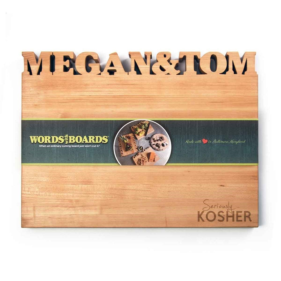 Kosher Kitchen- custom cutting board