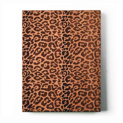 Leopard Print Serving Board Words With Boards