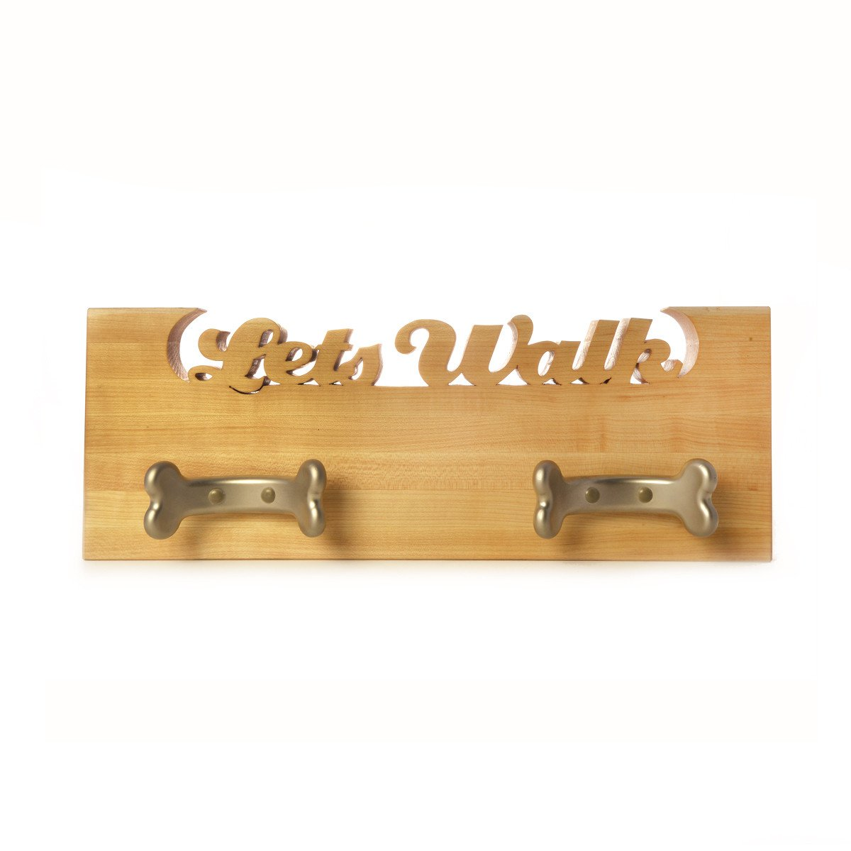 Leash board for dogs - dog leash hooks - dog leash holder - Words with Boards  - 1