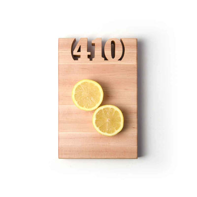 MINI CUTTING BOARDS - AREA CODE - 1