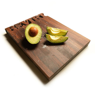 Small Vertical Custom Cutting Board ~ Top  Text - Words with Boards - 4