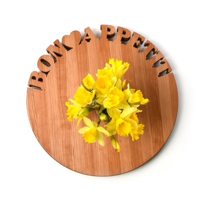 Personalized Cutting Board ~ Round