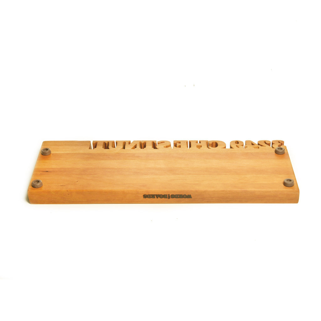 long personalized cutting board  words with boards, Kitchen design