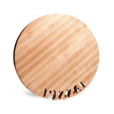 Pizza board - round pizza board - round cutting board - Words with Boards - 2