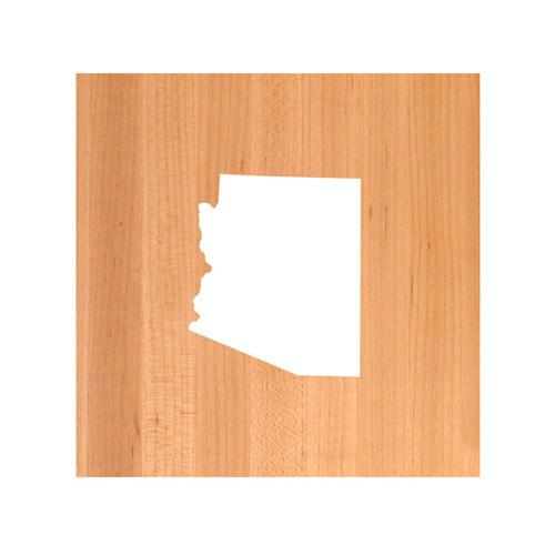 Arizona State Cutting Board TRIVET - Arizona shaped cutting board