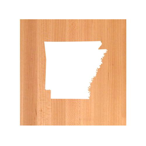 Arkansas State Cutting Board TRIVET - Arkansas shaped cutting board