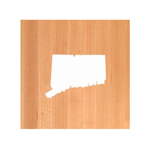 Connecticut State Cutting Board TRIVET - Connecticut shaped cutting board