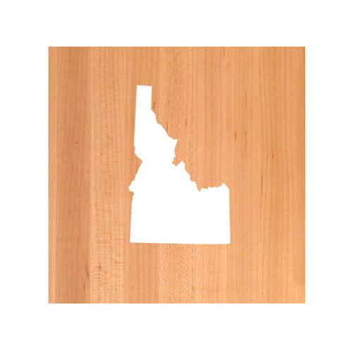 Idaho State Cutting Board TRIVET - Idaho shaped cutting board