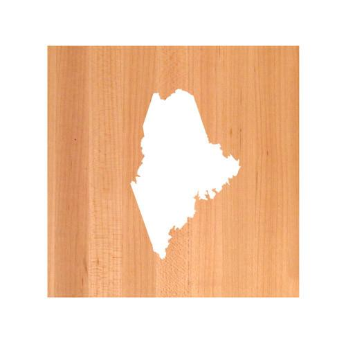 Maine State Cutting Board TRIVET - Maine shaped cutting board