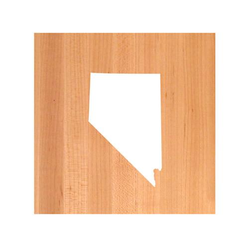 Nevada State Cutting Board TRIVET - Nevada shaped cutting board