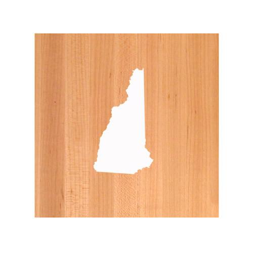 New Hampshire State Cutting Board TRIVET - New Hampshire shaped cutting board