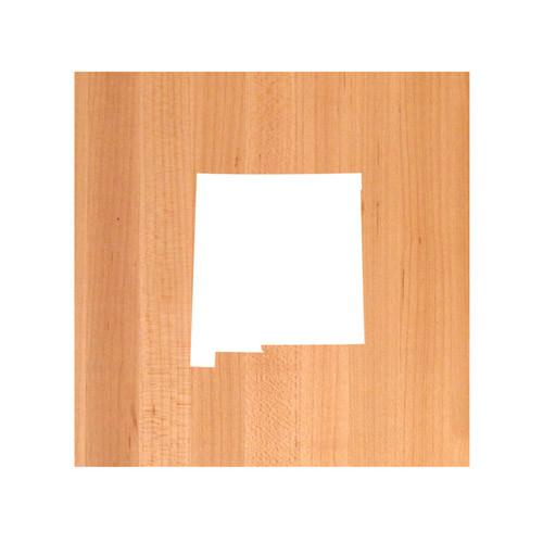 New Mexico State Cutting Board TRIVET - New Mexico shaped cutting board