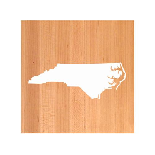 North Carolina State Cutting Board TRIVET - North Carolina shaped cutting board