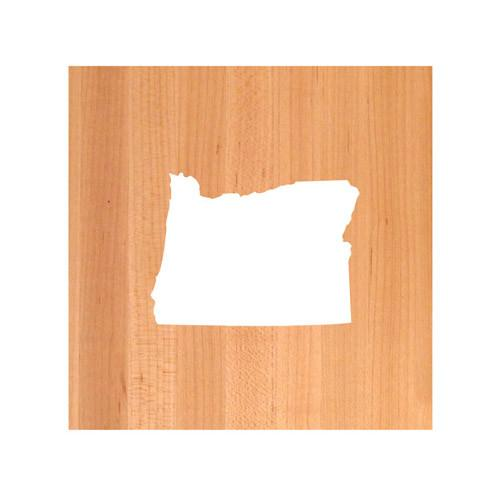 Oregon State Cutting Board TRIVET - Oregon shaped cutting board
