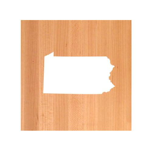 Pennsylvania State Cutting Board TRIVET - Pennsylvania shaped cutting board