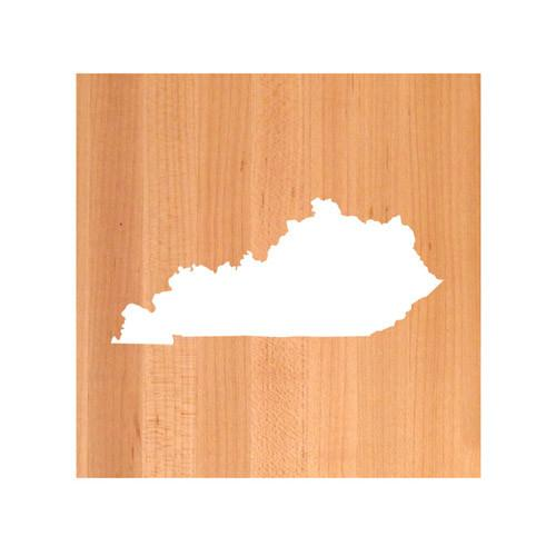 Kentucky State Cutting Board TRIVET - Kentucky shaped cutting board