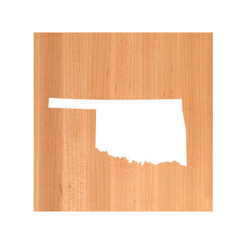 Oklahoma State Cutting Board TRIVET - Oklahoma shaped cutting board