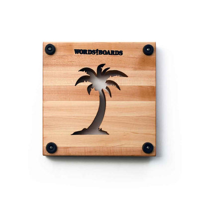 TRIVETS FOR DINING TABLE - PALM TREE