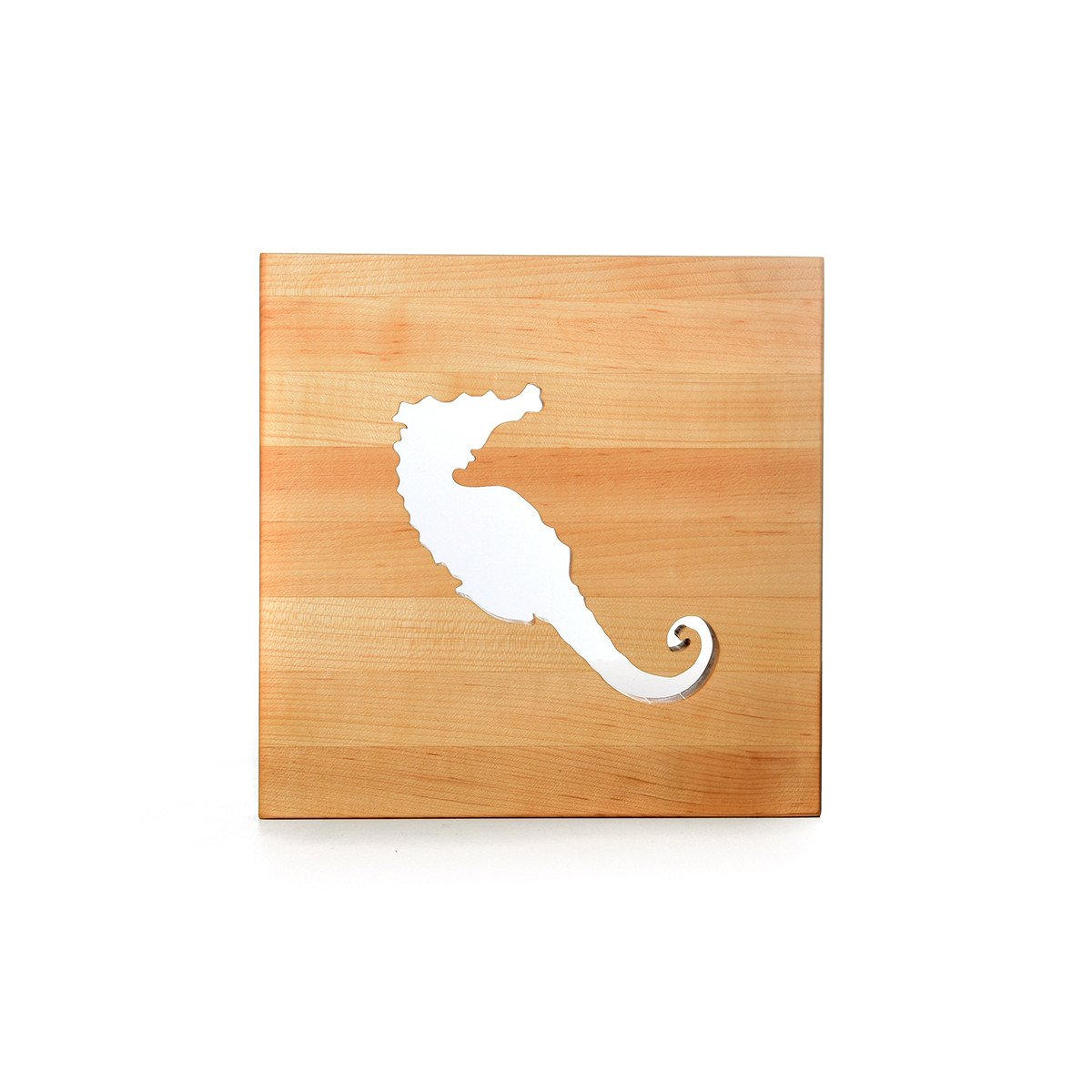 TRIVET - SEAHORSE - wooden trivets - Words with Boards  - 1