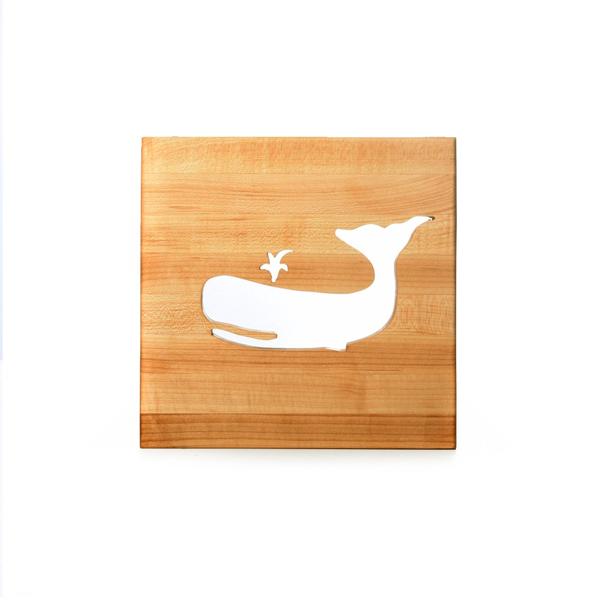 TRIVET - WHALE - wooden trivets - Words with Boards  - 1