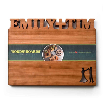 Custom Cutting Boards - Words with Boards