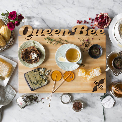 Cutting Board ~ Queen Bee - Words with Boards  - 2