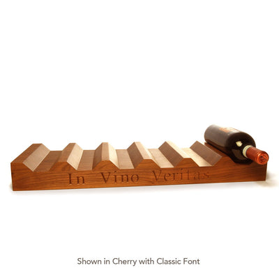 Wood Wine Rack ~ In Vino Veritas - Words with Boards  - 2
