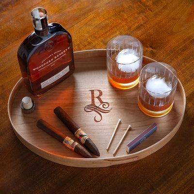 WOOD SERVING TRAY - 3