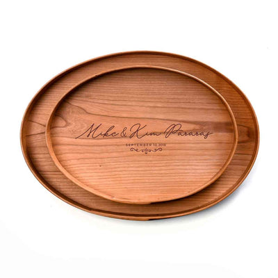 Wood Tray - Name and Date