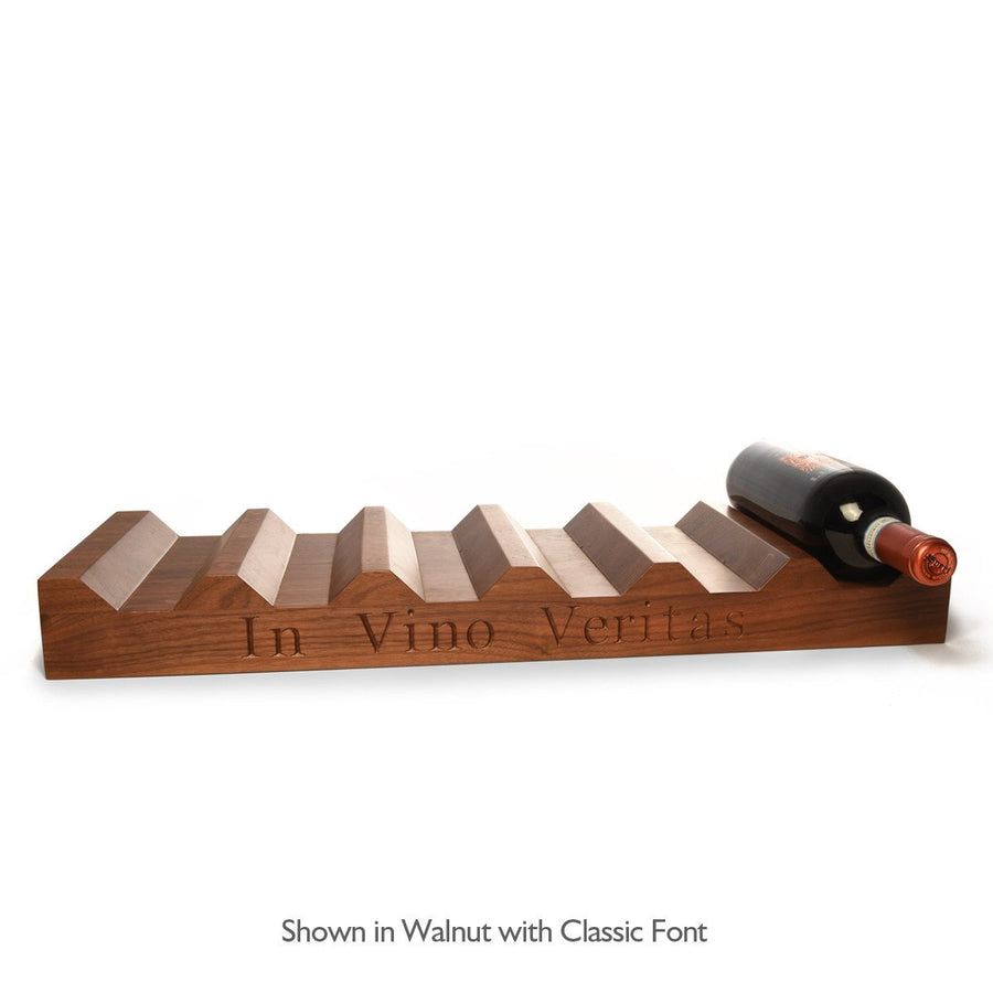 Wood Wine Rack ~ Personalized 12 bottle
