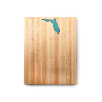 Wood board - State Inlay