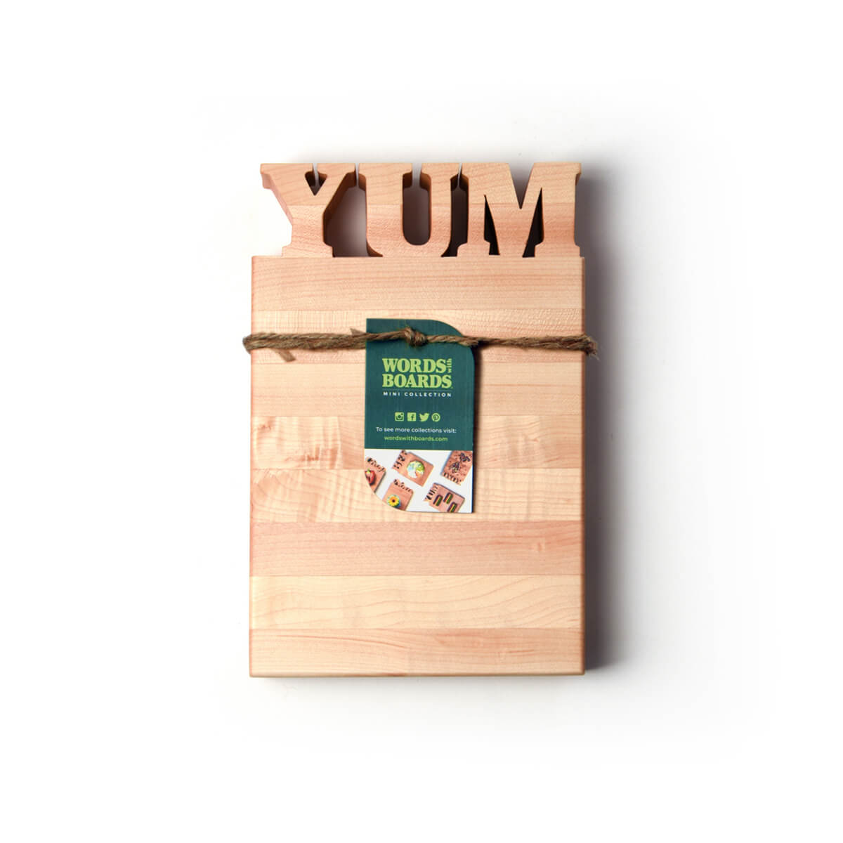cute cutting board sayings- this one has YUM cut out of wood-bottle opener option