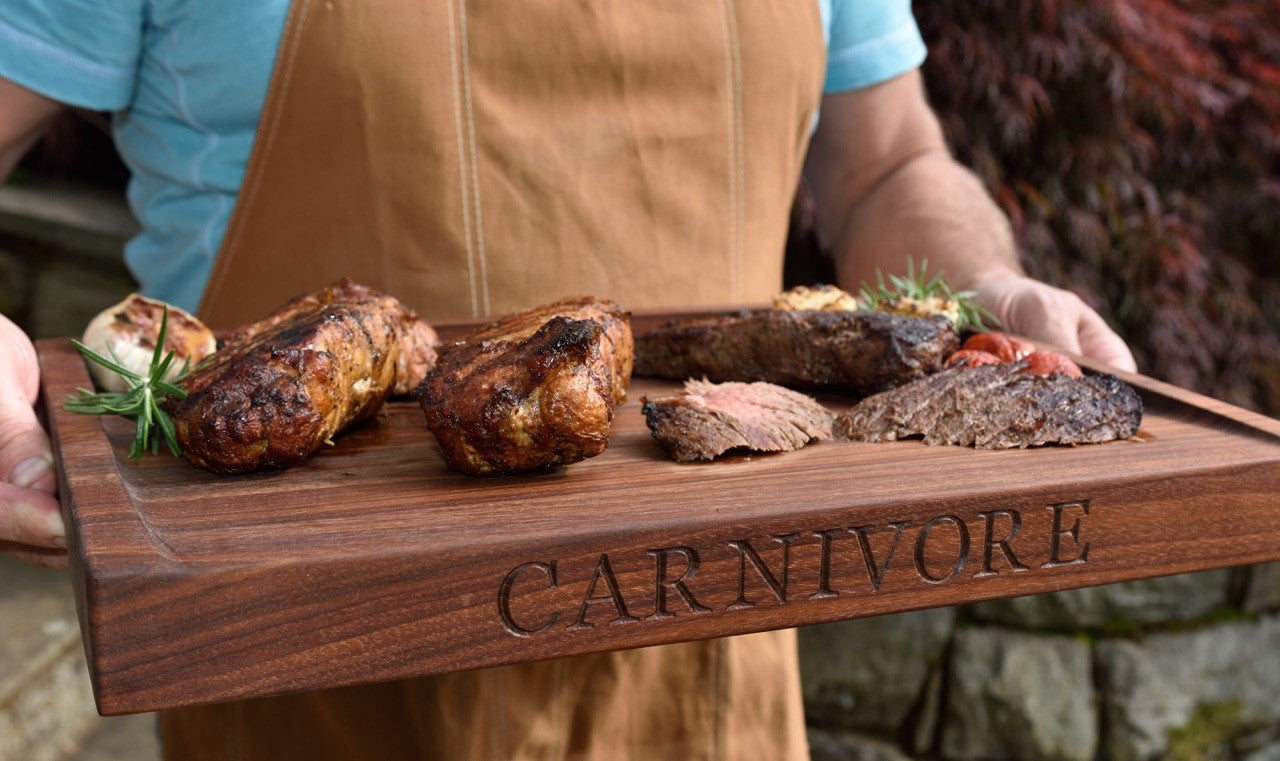 Cutting Board for Meat ~ CARNIVORE