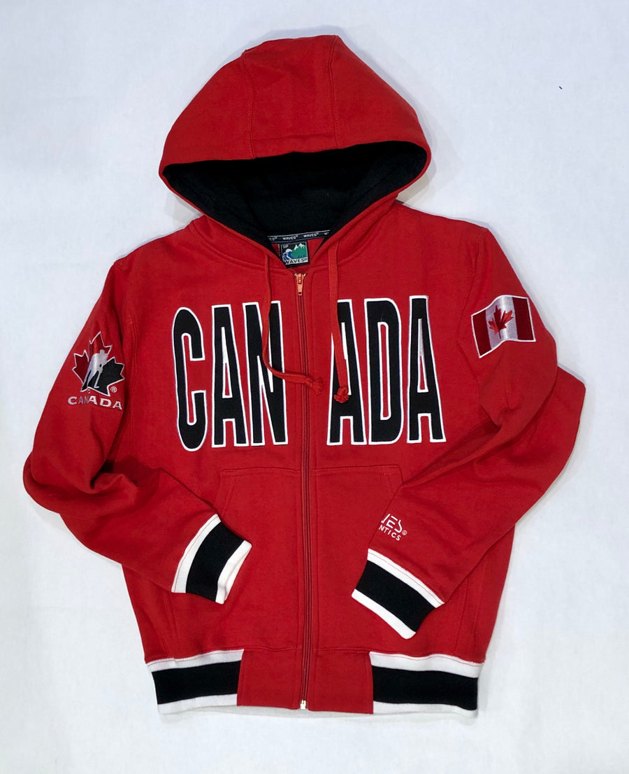 TEAM CANADA ZIP UP HOODIE