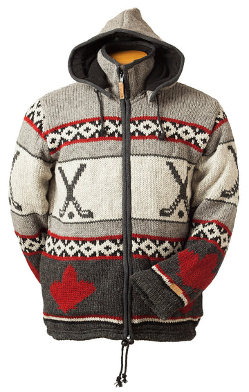 WOOL HOCKEY JACKET