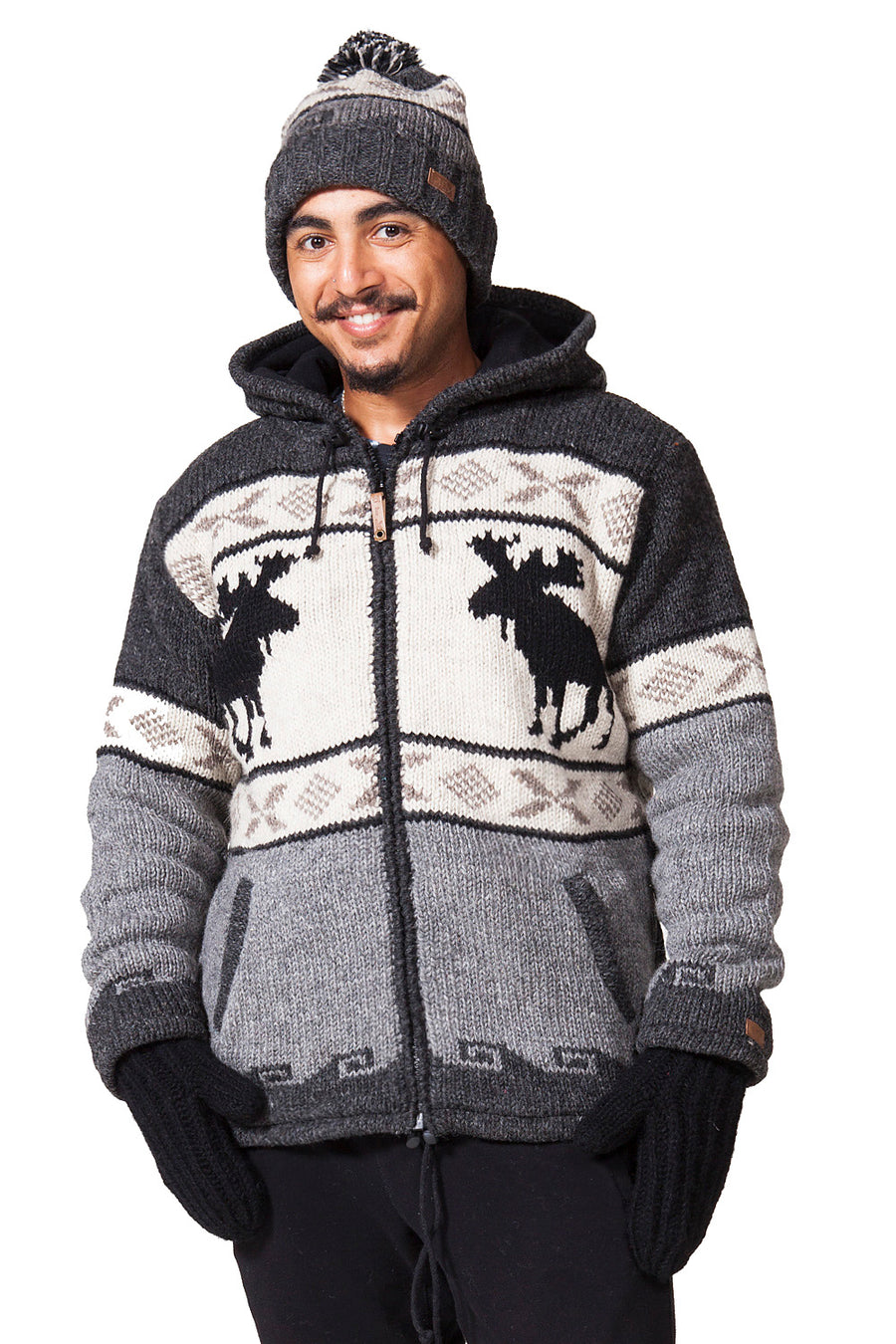 WOOL MOOSE JACKET