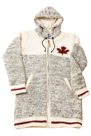WOOL CABIN MAPLE LEAF JACKET