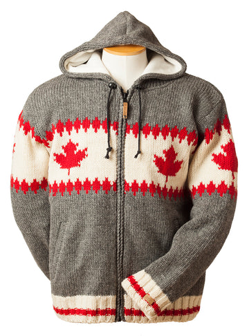 WOOL MAPLE LEAF JACKET