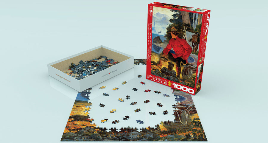 RCMP MORNING CAMPFIRE PUZZLE