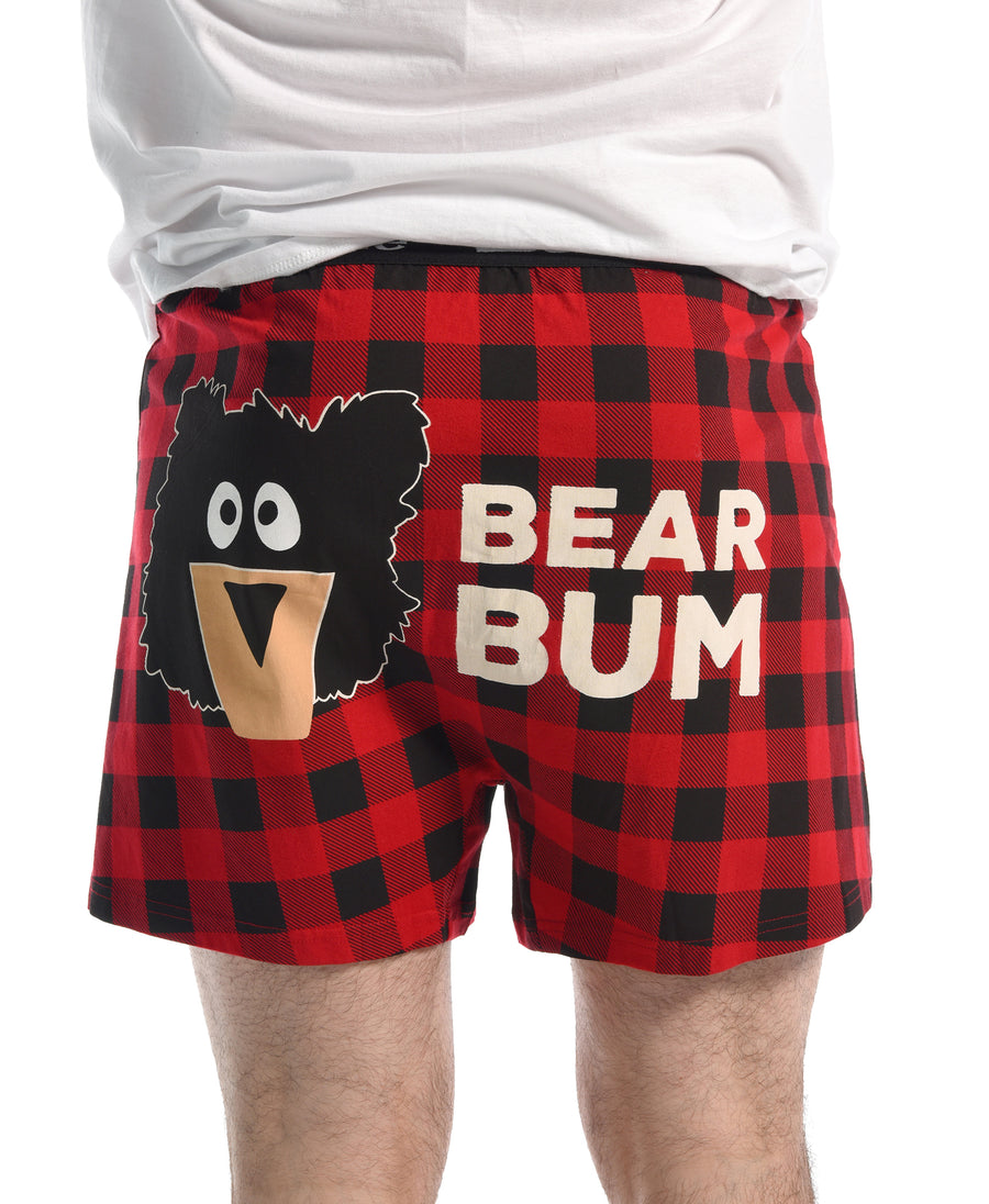 LAZY ONE BEAR BUM BOXERS
