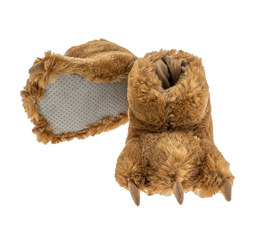 LAZY ONE BEAR PAW SLIPPERS