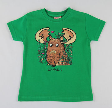 MOOSE FLOOPY MOUTH TODDLER TEE