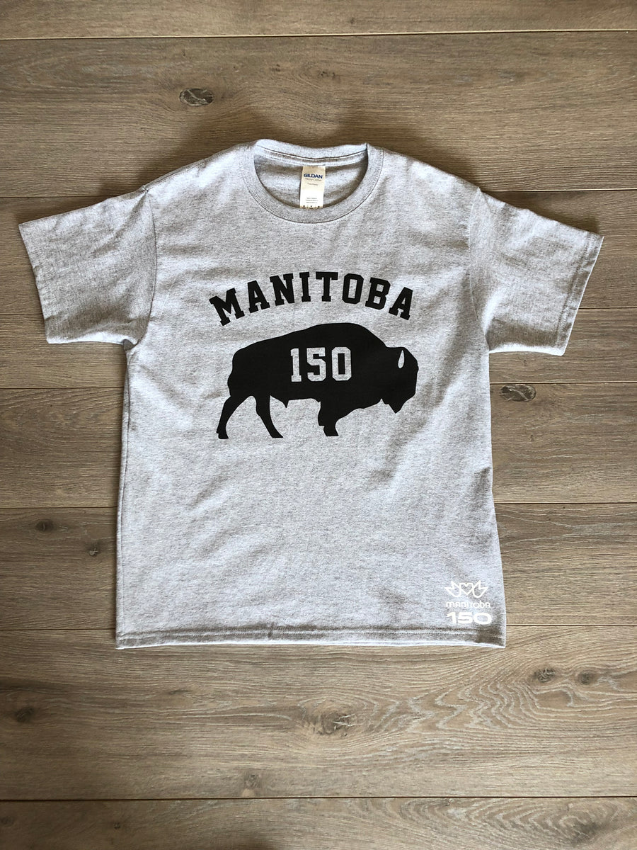 MANITOBA 150 BISON TODDLER TEE