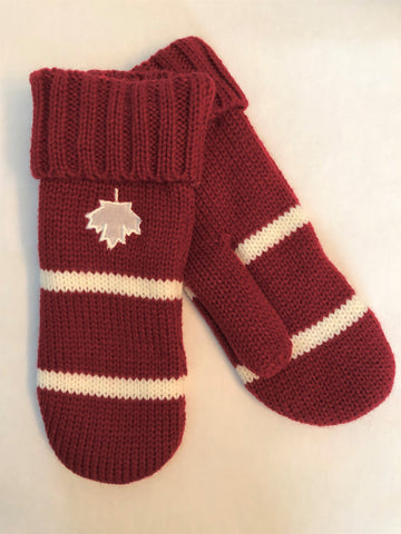 MAPLE LEAF MITT