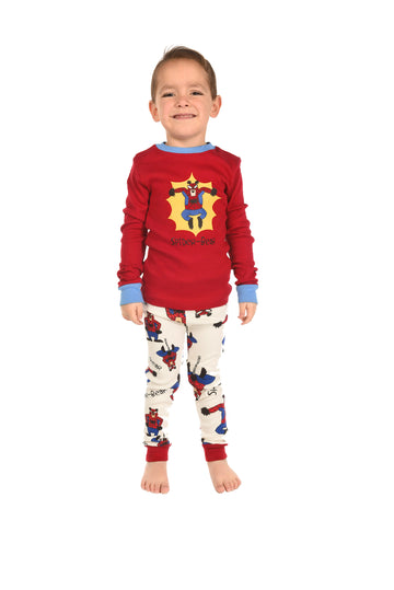 LAZY ONE SPIDER-BEAR KIDS PJ SET