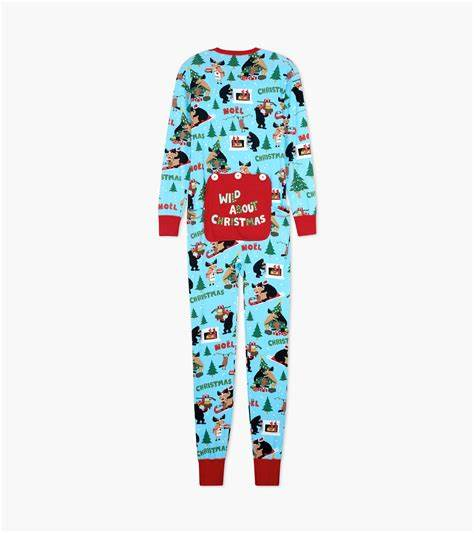 LITTLE BLUE HOUSE WILD ABOUT CHRISTMAS KIDS ONESIE